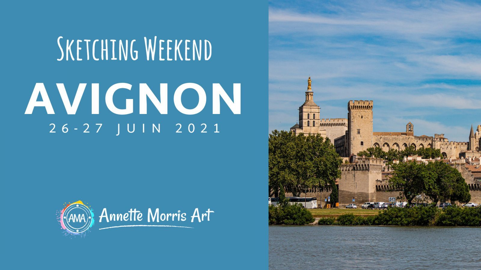 | During this lovely weekend break we'll be sketching around the city and of course the infamous Pont d'Avignon. Our sketchbooks will be filled with colour as we study water, architecture, and the hustle bustle of city life at the 'gateway to Provence'.… Read More