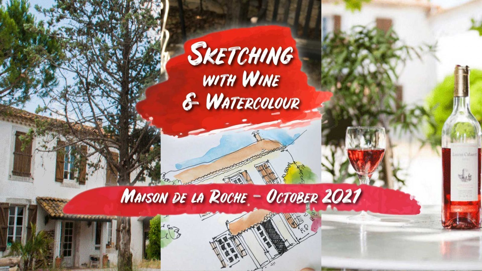 Sketching with Wine and Watercolour |